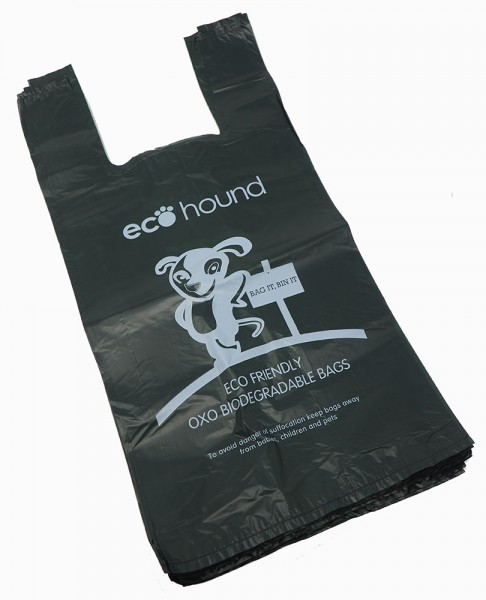 Ecohound Dark Green Large Thick Dog Waste Bags Poo Bags