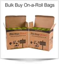 Poo Bags Direct - Bulk Biodegradable Poo Bags on a roll