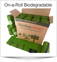 Poo Bags Direct - Biodegradable Poo Bags on a roll